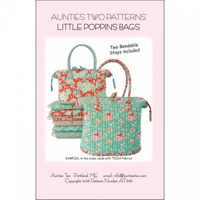 Little Poppins bag - incl. metalstivere