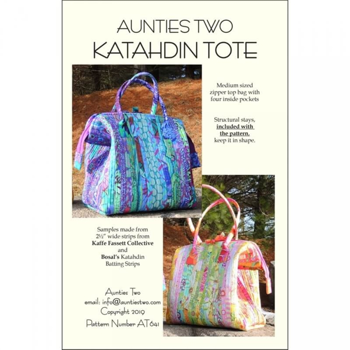 Katahdin Tote - incl. metalstivere