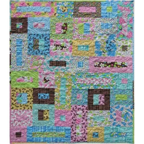 kids quilts jelly roll tæppe