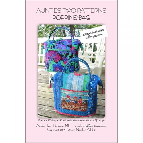 Aunties two - Poppins bag
